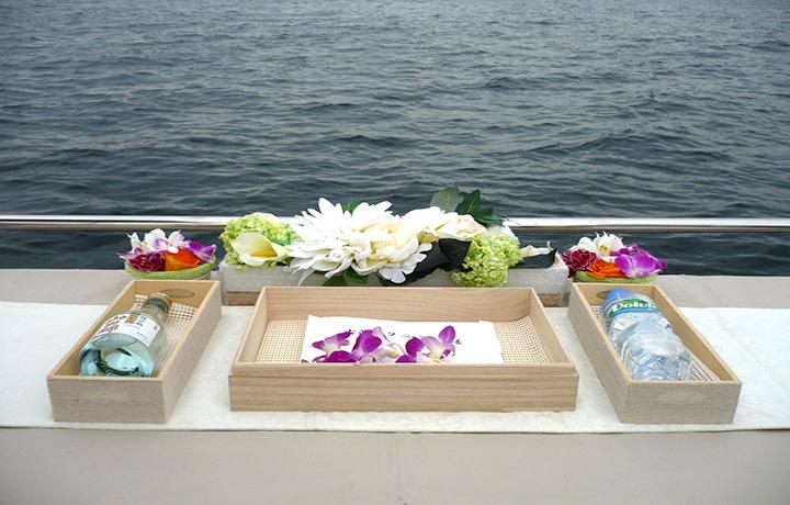 大阪湾での貸切乗船散骨