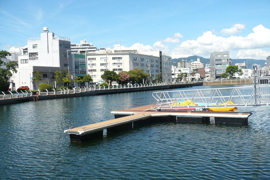 神戸の海での散骨出航場所