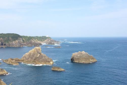 和歌山県串本沖での海洋散骨