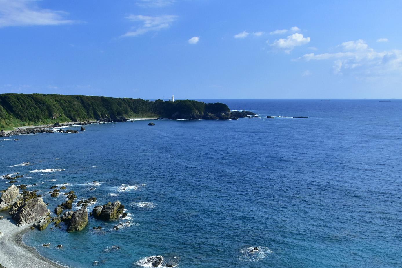 和歌山県潮岬沖での海洋散骨