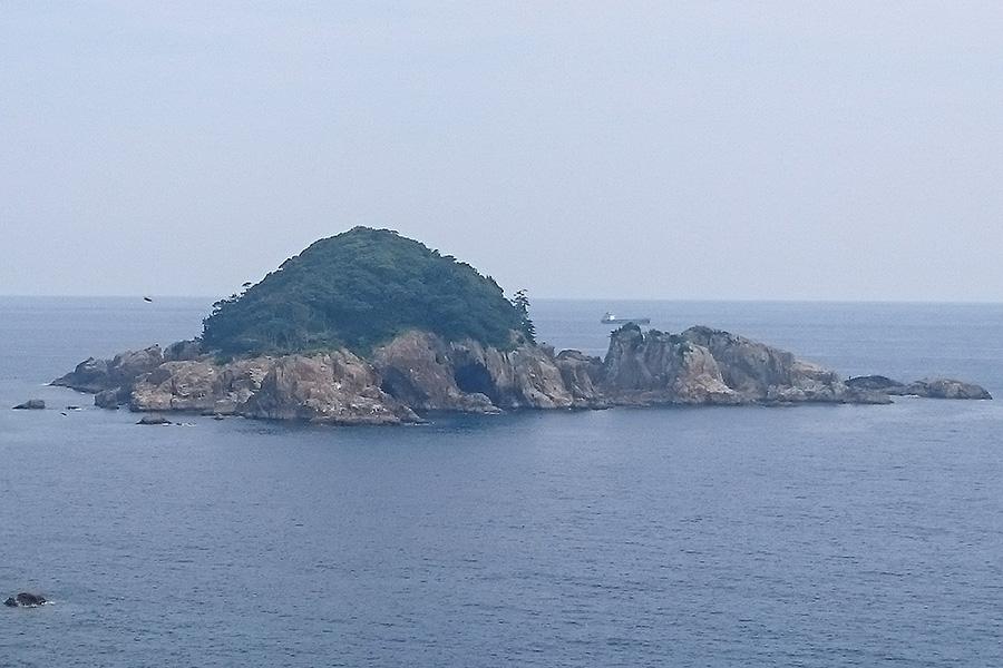 和歌山県周参見沖での海洋散骨