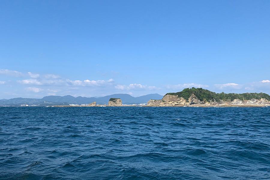 和歌山県紀伊田辺沖での海洋散骨